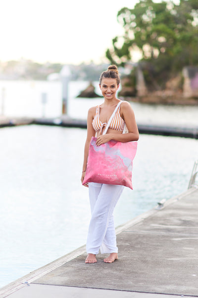 Hutt Lagoon Canvas Tote Bag