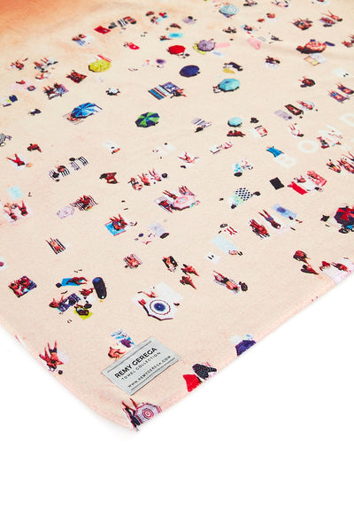 Bondi Beach Quick-Dry Beach Towel