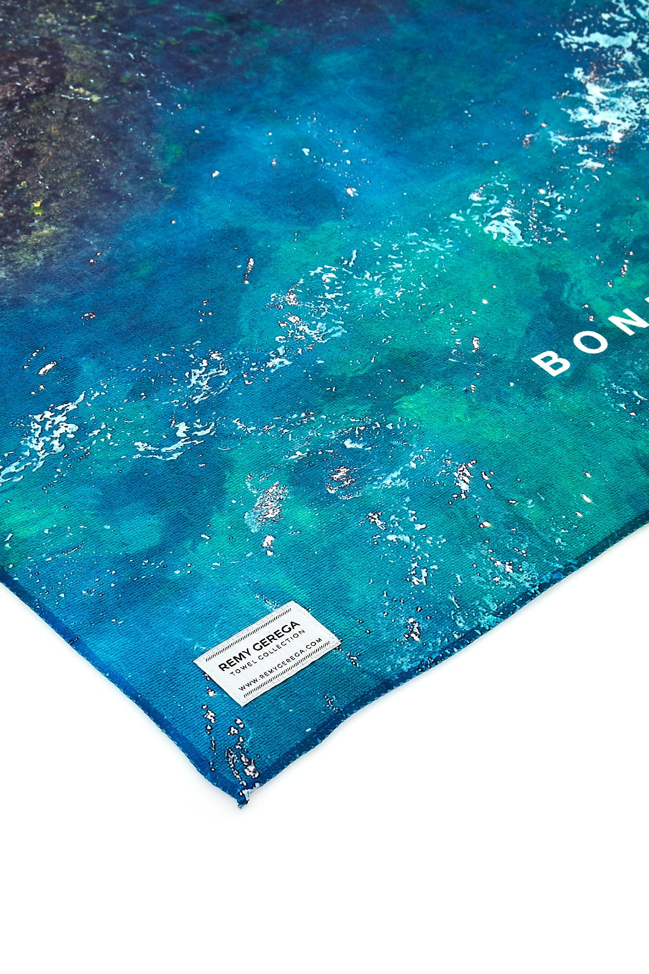 Bondi Swimmers Quick-Dry Beach Towel