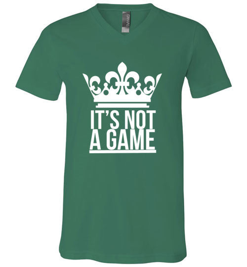 """IT'S NOT A GAME"" V-NECK (More Colors)"