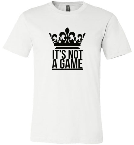 IT'S NOT A GAME (More colors)