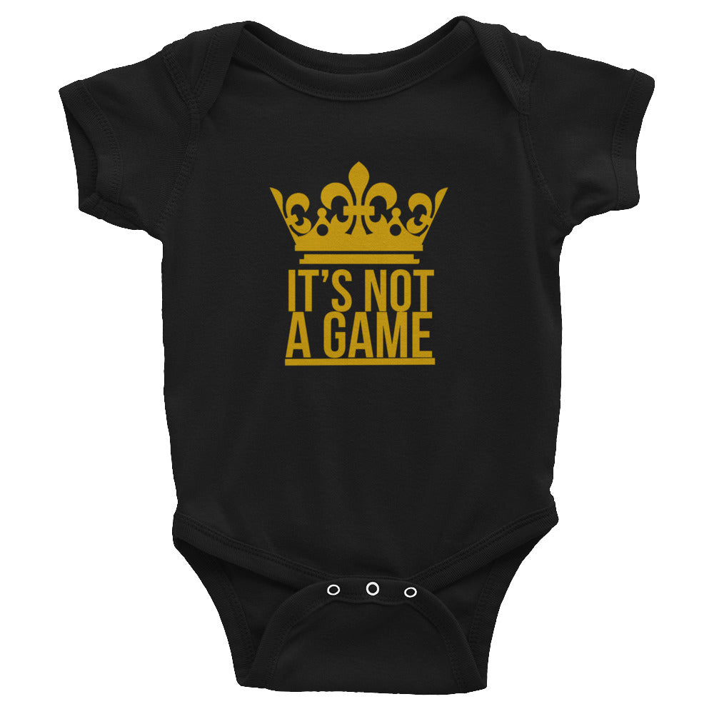 """It's Not A Game"" Infant Bodysuit"