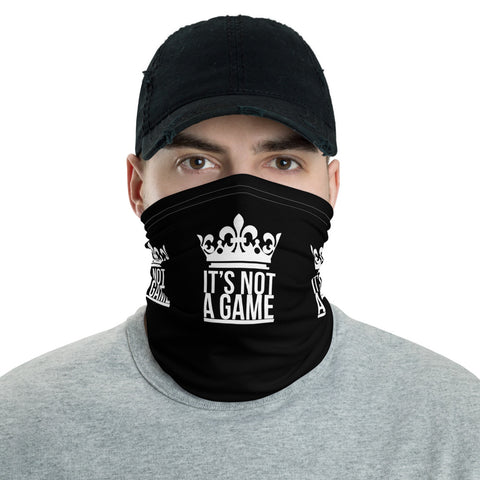 It's Not A Game Face Mask (Black)