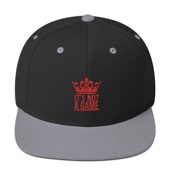 IT'S NOT A GAME- Snapback (more colors)