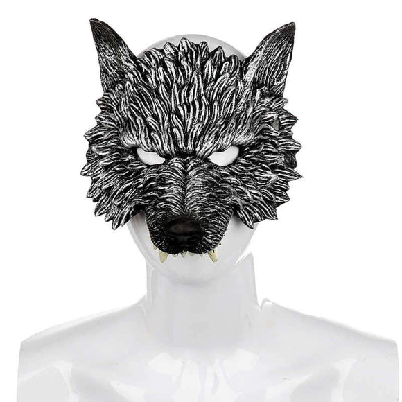 Halloween 3D Wolf Horror Masque Halloween Party Mask