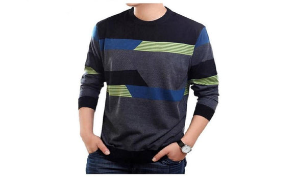 Pull Homme Casual Dress Long Sleeve Shirt