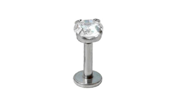 Cubic Zirconia Tragus Lip Ring Cartilage Earring