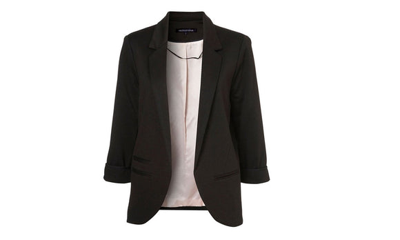 Women Slim Fit Blazer Jackets