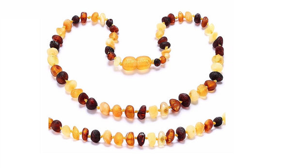 Amber Teething Necklace for Baby