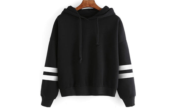 Winter Warm Fleece Hooded Sweatshirt