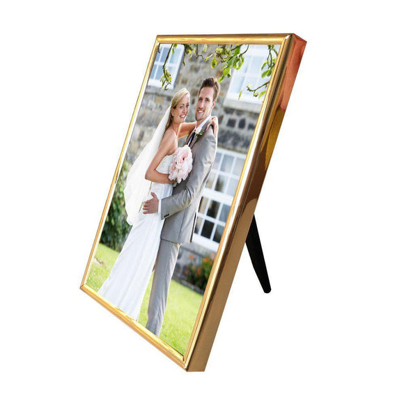 "Picture Frame 6x4"" Thin Edge Photo Frames Vertical or Horizontal Plain Style Picture Frames for Wall or Table Top Gift for Valentines Day"