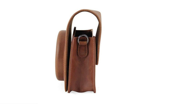 PU Leather Camera Case Bag Holder For Instax Mini 90 DEC7