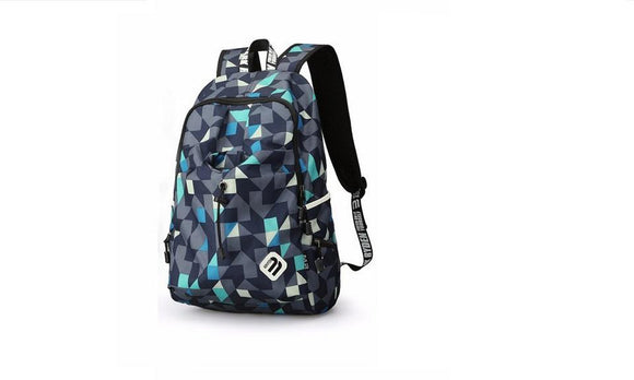 Nylon Waterproof Laptop Backpack Shoulder Bag