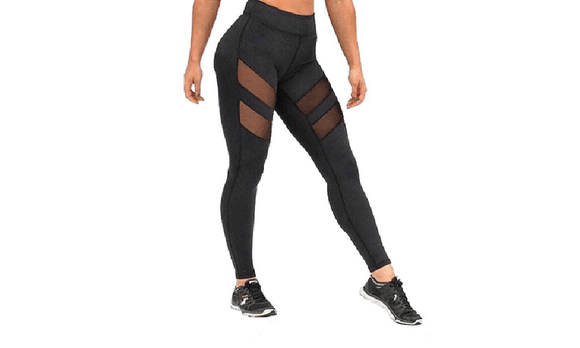 Mesh High Waist Workout Leggings