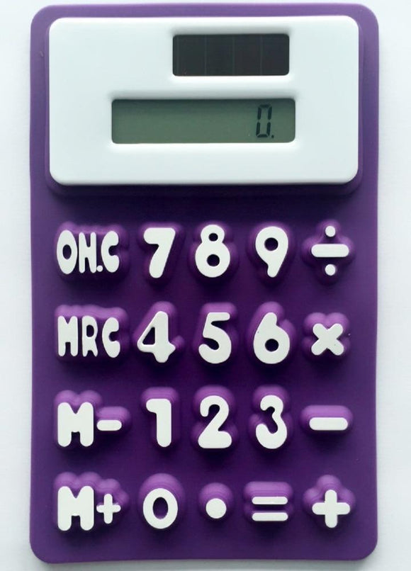 New Stylish Handheld Silicone Scientific Calculator