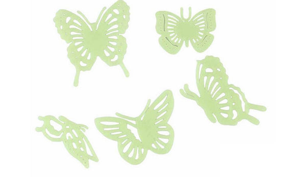 3D Luminous Butterfly Novelty Plastic Wall Stickers For Kids