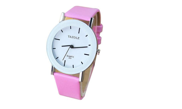 Elegant Style Candy Color Outdoor Women Watch