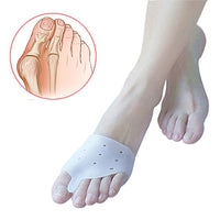 2pcs Orthotics Silicone Toes Separator Foot Daily Use Care Tool - sparklingselections