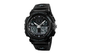 Digital Double Time Chronograph Watwrproof Sports Watches