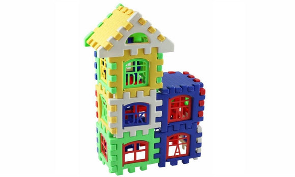 Baby Kids House Building Blocks Educational Learning Construction toy