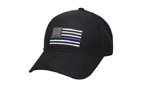 Flag Thin Blue Line Flag Low Profile Tactical Hats
