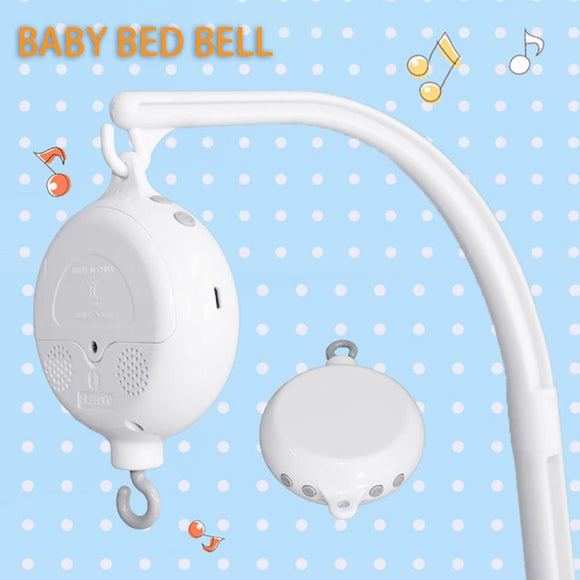 Newborn Battery-operated 35 Songs Rotary Baby Crib Bed Bell Toys Music Box