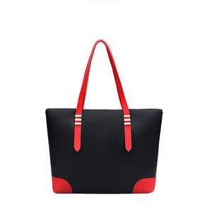 Women Sleek Minimalist Shoulder Bag Luxury Tote Bag Handbag