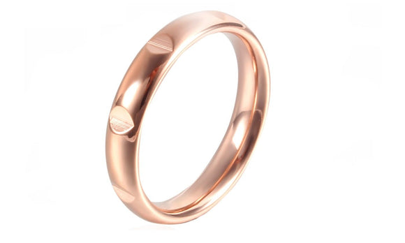 New 3mm Simple Design Stainless Steel Ring