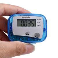 Digital Walk LCD Pedometer Distance Step Counter Calorie Running Pedometer Walking Distance Counter for Outdoor Sports