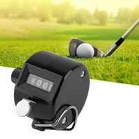 4 Digit Portable Manual Palm Clicker Number Counting Golf - sparklingselections