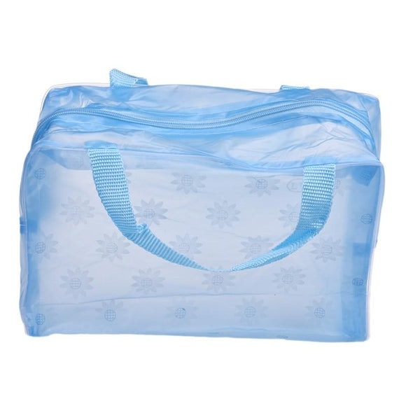 Portable Makeup Wash Toothbrush Pouch Bag Waterproof Washable Handbag