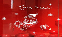 Merry Christmas Wall Sticker Home Shop Windows Decals - sparklingselections