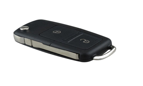 Two Buttons Remote Flip Folding Car Key Shell