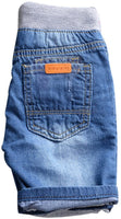 Kids Short Denim Causal Jeans High Quality Boys Washed Pull-On Shorts - sparklingselections