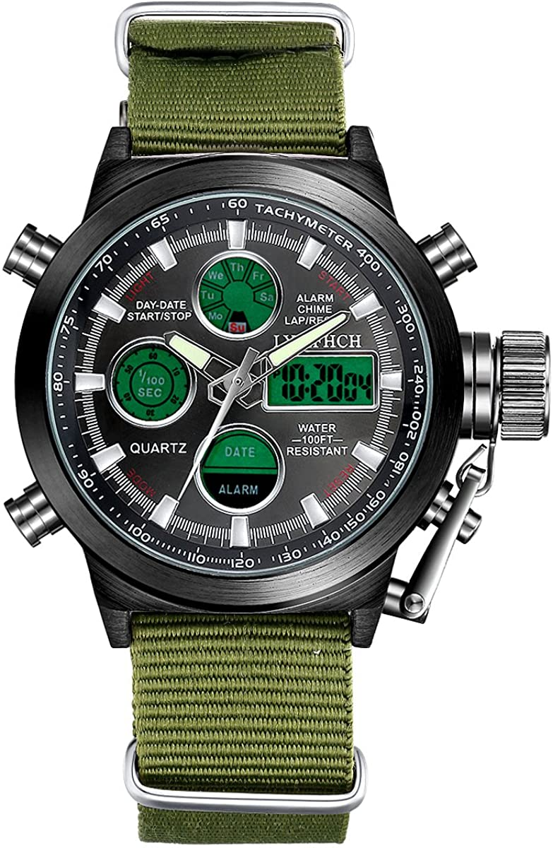 Waterproof LED Digital Male Watches - sparklingselections