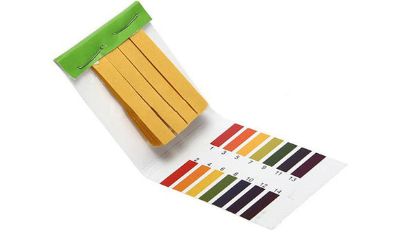 80 Strips PH Test Strip Aquarium Pond Water Testing PH Litmus Paper