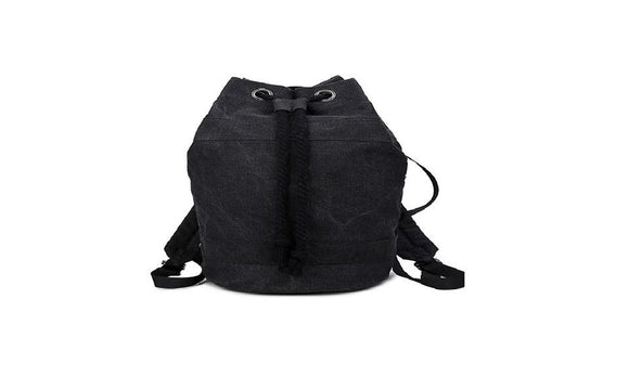 Unisex  Durable Canvas Drawstring Backpacks