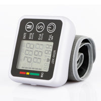 Automatic Digital Wrist Blood Pressure Monitor Meter - sparklingselections
