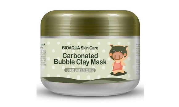 Black Pig Carbonated Bubble Clay Mask Winter Deep Cleaning Skin Care