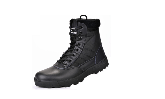 Military Leather Shoes For Men