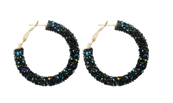 Fashion Geometric Hoop Earrings For Women