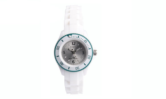 Analog Quartz Movt Rhinestone Crystal Dial Buckle Child Watch