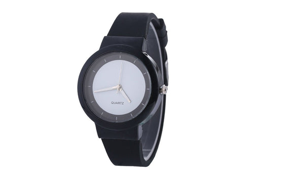 Silicone Casual Sport Quartz Watches For Men Women