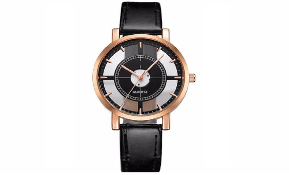 Women Watch Luxury Unique Stylish Double Hollow