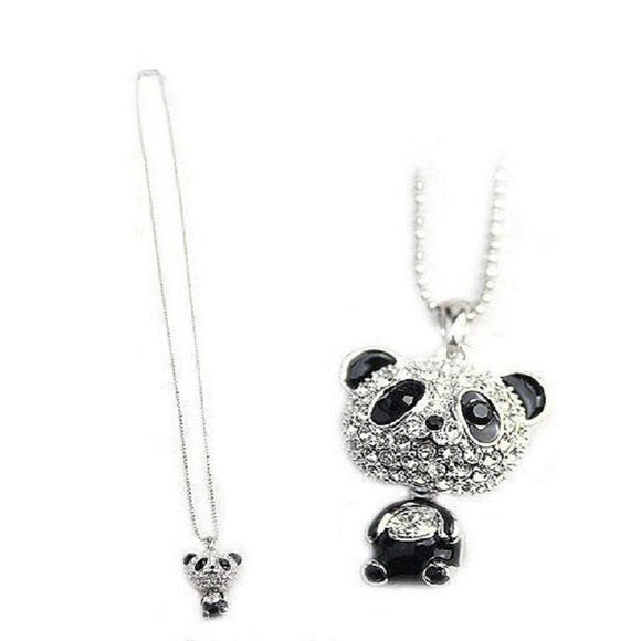 New Cute Female Panda Chain Necklace for Women