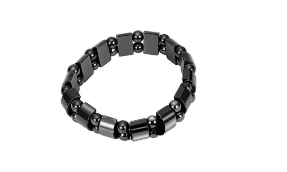 Black Magnetic Hematite Bracelet for Men