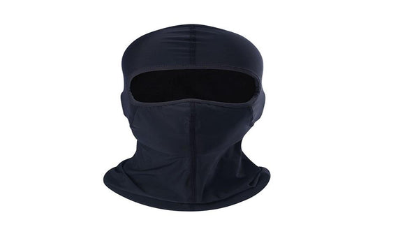 Men Black Speaker Grill Mesh Full Face Mask