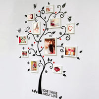 Creative Photo Frame Tree Wall Stickers - sparklingselections