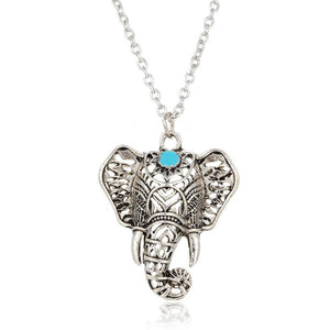 New Elephant Shape Pendant Necklace for Women