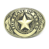 Men's Western THE STATE OF TEXAS Cowboy Belt